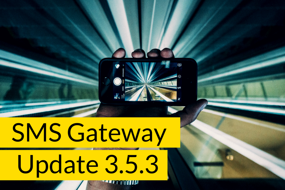 SMS Gateway Software Update