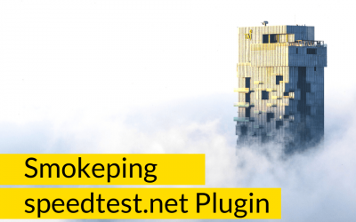 Smokeping – speedtest.net Plugin